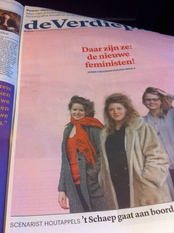 foto website nieuwe feministen